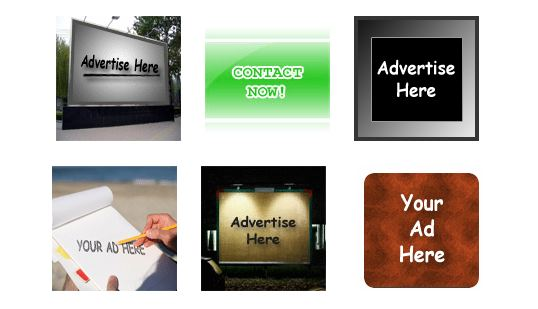 Animated Ad banners Advertise here Banners Pack PSD