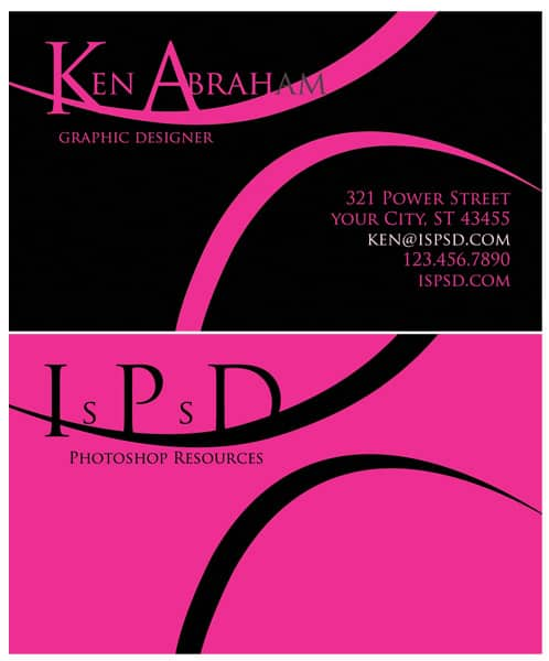 Rose_power__Business_Card_PSD