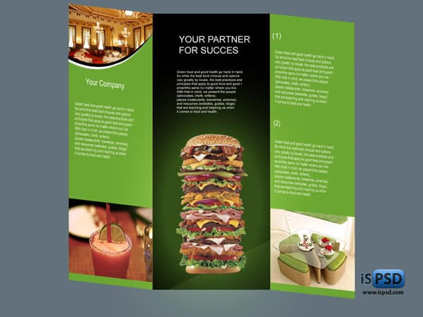 30 free collection of templates for brochures for Free food brochure templates