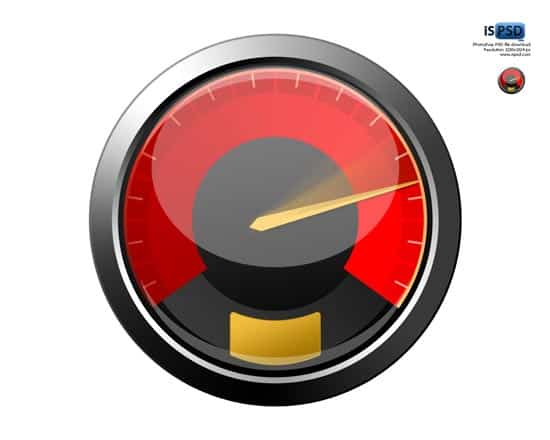 psd-red-speedometer-icon