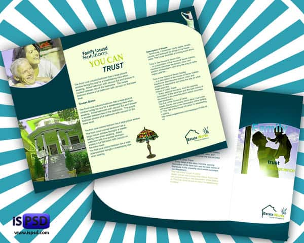 realestate Real Estate Brochure PSD