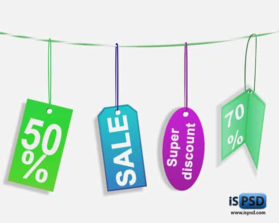 Discount Banner Psd Discount Tags Psd