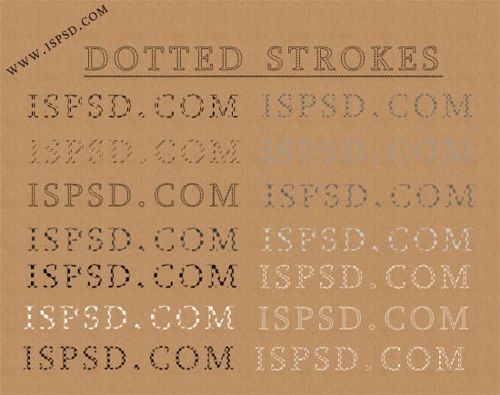 dotted_strokes_styles