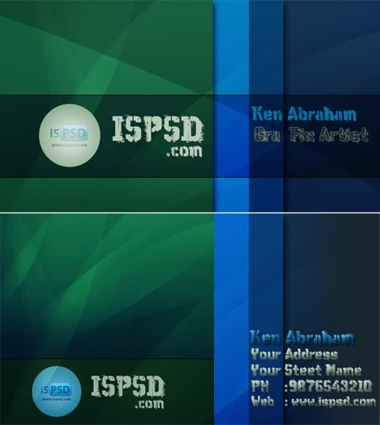 green_business_cards