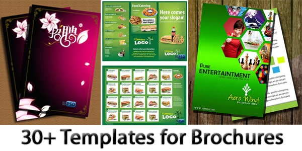 free templates for brochures