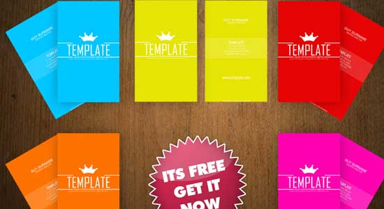 Business Card Template 2 Collection of Free PSD templates