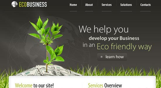 Business PSD Template Collection of Free PSD templates