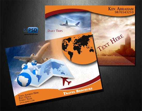 travel brochure Travel Brochures  PSD
