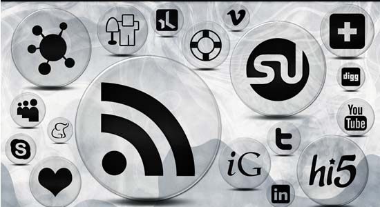 154 clear bubble icons 100+ Cool Social Media & Web 2.0 Icons