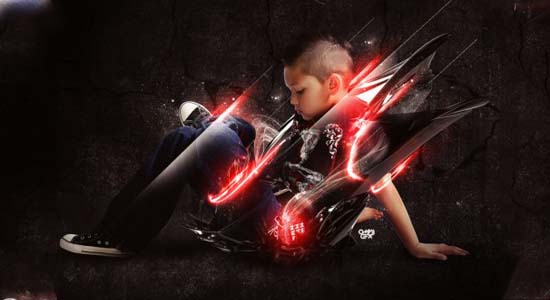 Brilliant Lighting Effects 40+ Cool Texture Effects & Abstract Photoshop Tutorials