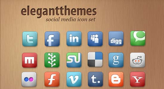 Free Social Media Icon Set 100+ Cool Social Media & Web 2.0 Icons