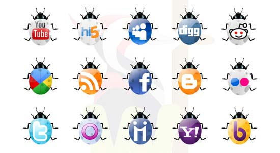 Free Social Networking Icons 100+ Cool Social Media & Web 2.0 Icons