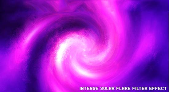 Intense Solar Flare Effect 40+ Cool Texture Effects & Abstract Photoshop Tutorials