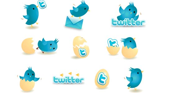 New Twitter Icons 100+ Cool Social Media & Web 2.0 Icons
