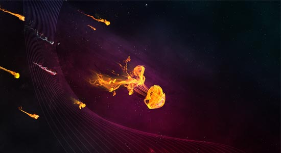 Vibrant Abstract Space Artwork 40+ Cool Texture Effects & Abstract Photoshop Tutorials