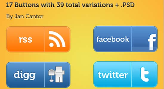Web Social Media Button 100+ Cool Social Media & Web 2.0 Icons
