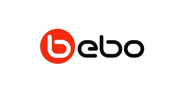 bebo  60+ Fonts used in Popular Website Logos
