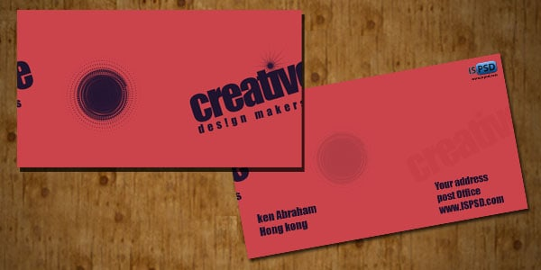 featured1 Design Makers Business Cards  PSD