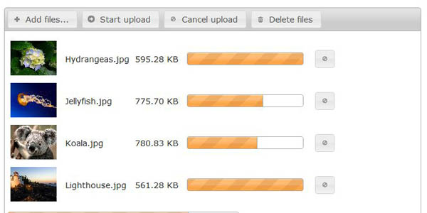 jQuery File Upload 20+ Jquery Ajax File Uploader Plugins for web developers