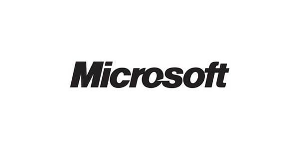 microsoft  60+ Fonts used in Popular Website Logos