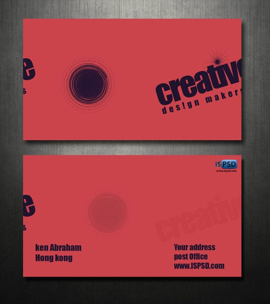 preview Design Makers Business Cards  PSD