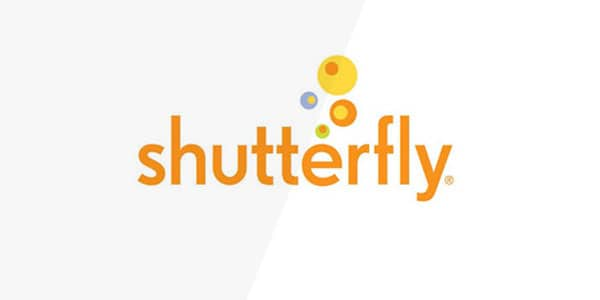 shutterfly  60+ Fonts used in Popular Website Logos