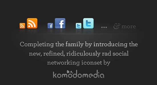 social network icons blog banner 100+ Cool Social Media & Web 2.0 Icons