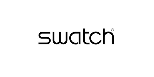 swatch  60+ Fonts used in Popular Website Logos