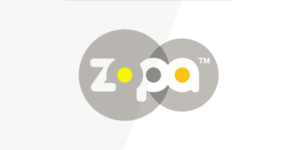 zopa  60+ Fonts used in Popular Website Logos