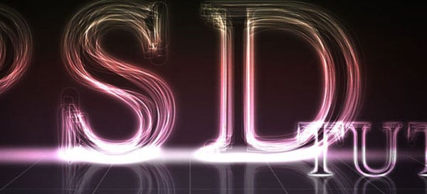08 02 psdtuts layered glowing text 50+ Creative Photoshop Text Effects Tutorials