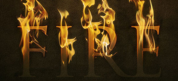 08 07 psdtuts fire effect 50+ Creative Photoshop Text Effects Tutorials