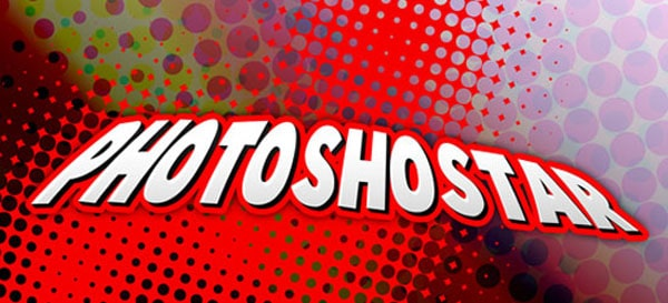 08 13 photoshopstar cartoon 50+ Creative Photoshop Text Effects Tutorials