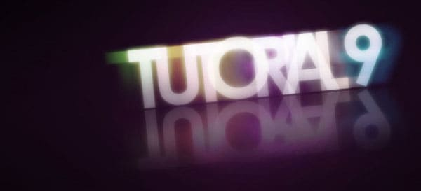 08 17 tutorial9 glowing text 50+ Creative Photoshop Text Effects Tutorials