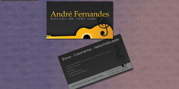 50 dj music business cards designs