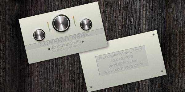 DJ PRODUCER Business Card 50+ Dj Music Business Cards & Designs
