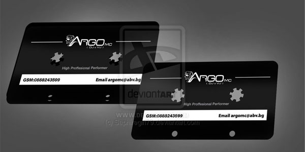 Dj Argo Business Card 50+ Dj Music Business Cards & Designs