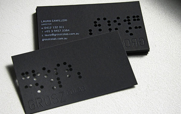 Grosz Co Lab 60+ Embossed Business Cards for Inspiration