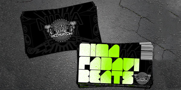 Nima Fadavi Business Card 50+ Dj Music Business Cards & Designs