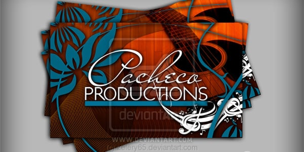 Pacheco Prod Business Card 50+ Dj Music Business Cards & Designs