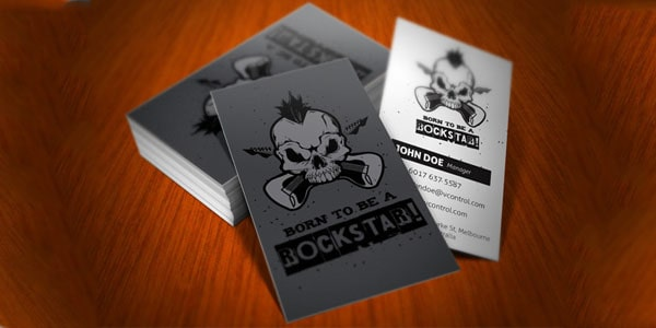 Rockstar Business Card 50+ Dj Music Business Cards & Designs