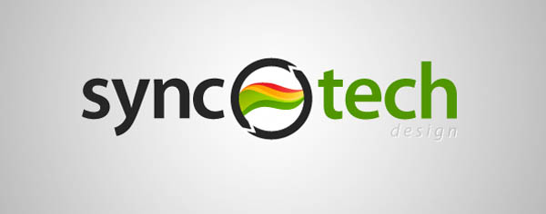 Synctech logo   design 80+ Cool Photography Logos