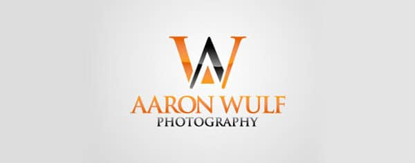 aaron wulf photography 80+ Cool Photography Logos