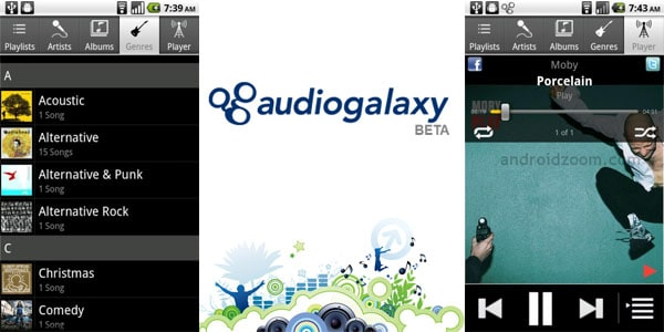 audiogalaxy beta 20+ Best Android Music Player Apps
