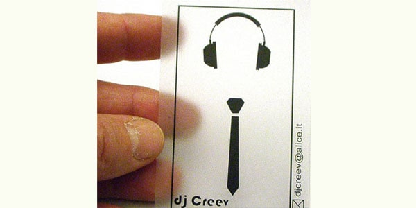 dj Creev 50+ Dj Music Business Cards & Designs