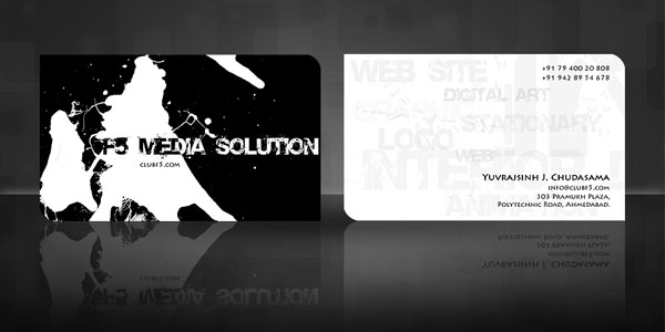 f5 business card 50+ Dj Music Business Cards & Designs