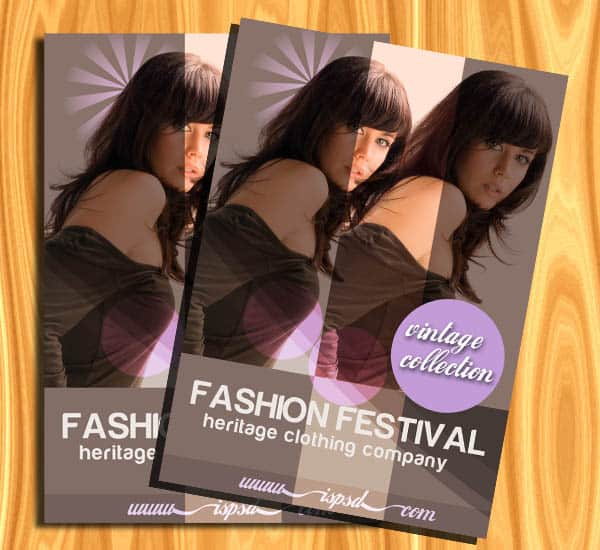 fashion preview Fashion Brochures PSD