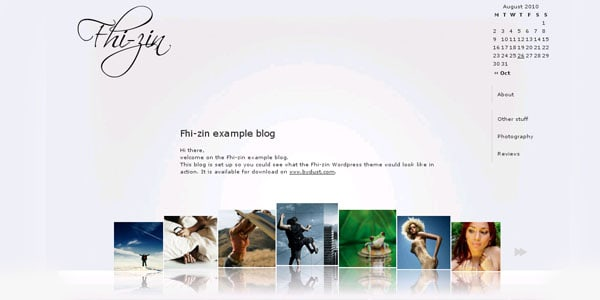 fhizin 15+ Free Photography website templates