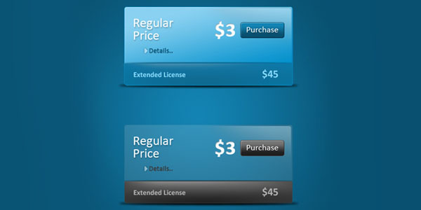 fresh price box pack 30+ Cool Pricing Tables PSD