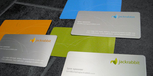 jackrabbit 60+ Embossed Business Cards for Inspiration