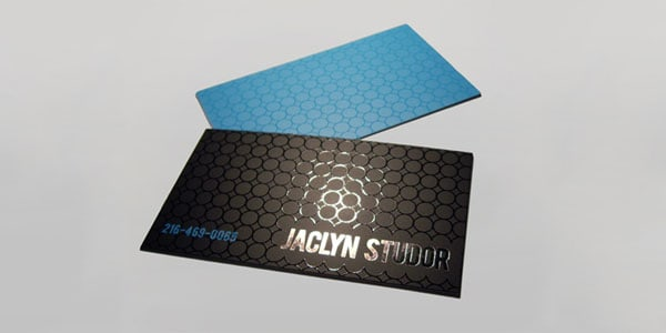 jaclyn 60+ Embossed Business Cards for Inspiration